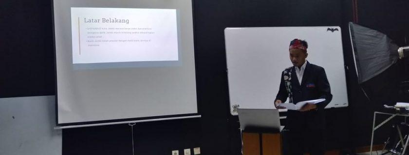 Kegiatan Sidang Tugas Akhir di Prodi Multimedia 2019-2020